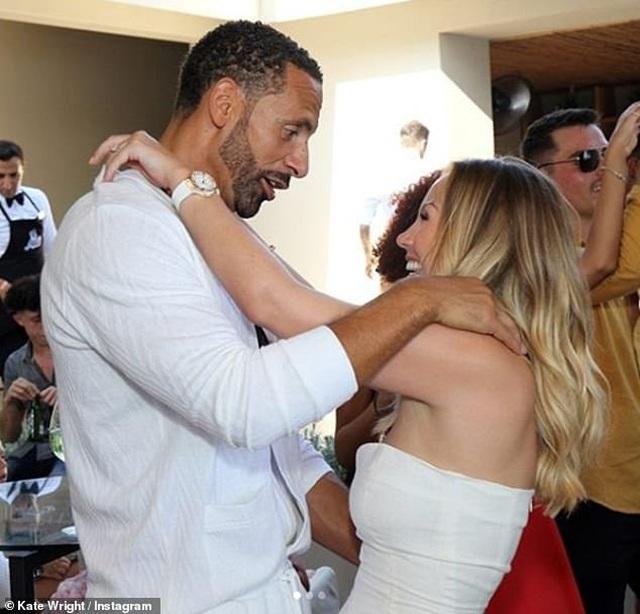 Kate Wrigh cưới danh thủ bóng đá Rio Ferdinand - 1