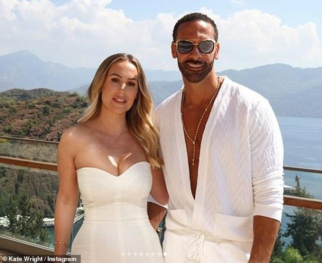 Kate Wrigh cưới danh thủ bóng đá Rio Ferdinand - 3