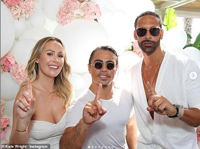 Kate Wrigh cưới danh thủ bóng đá Rio Ferdinand - 5