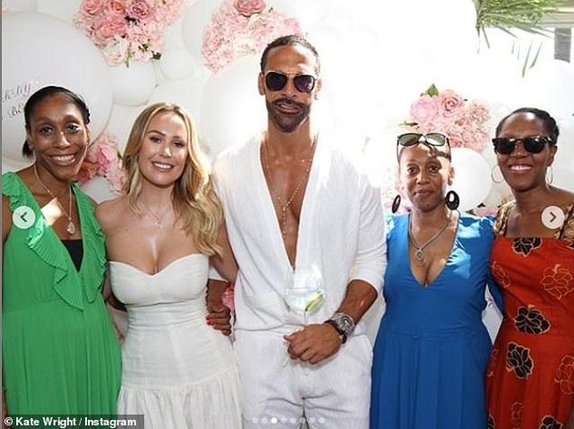 Kate Wrigh cưới danh thủ bóng đá Rio Ferdinand - 12