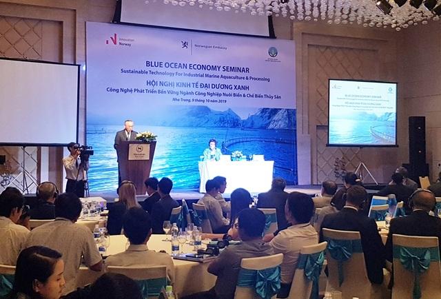 """Hơn 150 đại biểu Việt Nam - Na Uy dự hội nghị về """"kinh tế Đại dương xanh"""" - 1"""