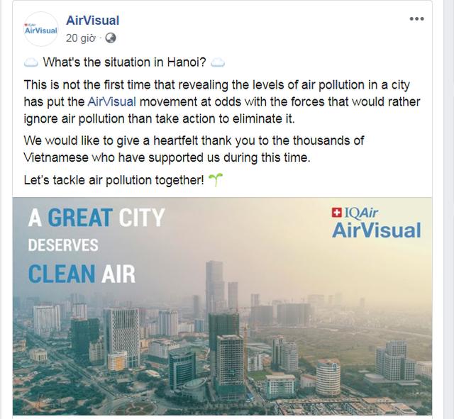 AirVisual bất ngờ mở lại ứng dụng tại Việt Nam - 1