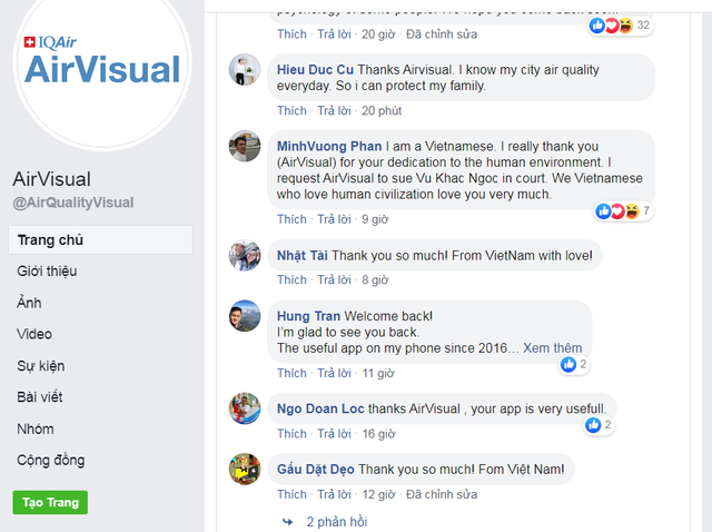 AirVisual bất ngờ mở lại ứng dụng tại Việt Nam - 2