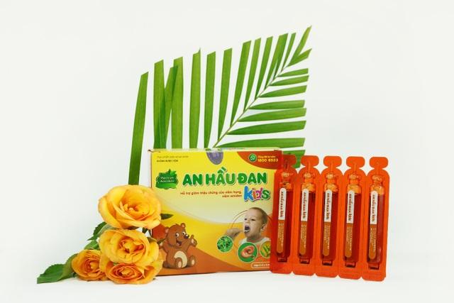 An Hầu Đan Kids sở hữu thảo dược vàng cúc lục lăng - 4