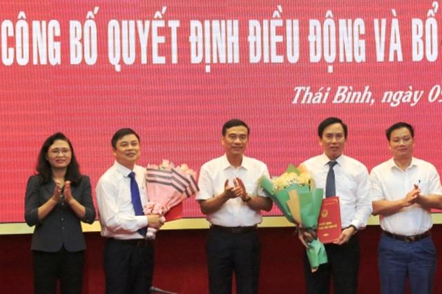 Thái Bình điều động 2 Chủ tịch huyện giữ chức Giám đốc Sở Nội vụ và Phó Trưởng BQL khu Kinh tế - 1
