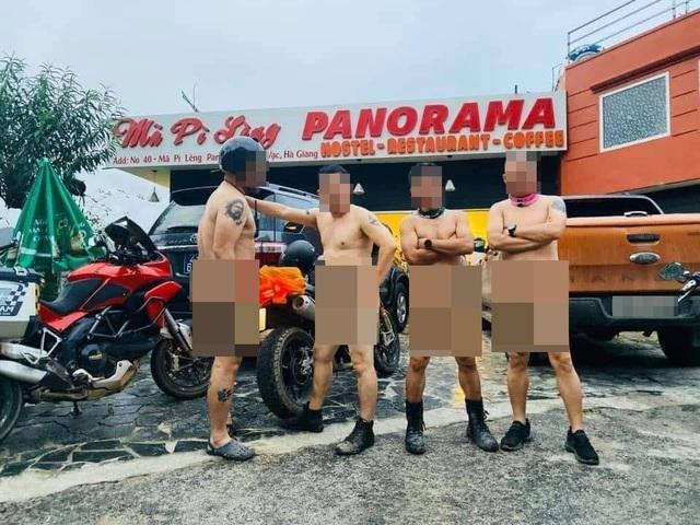 Facebook dậy sóng vì 4 người đàn ông khỏa thân tạo dáng tại Mã Pì Lèng Panorama - 1