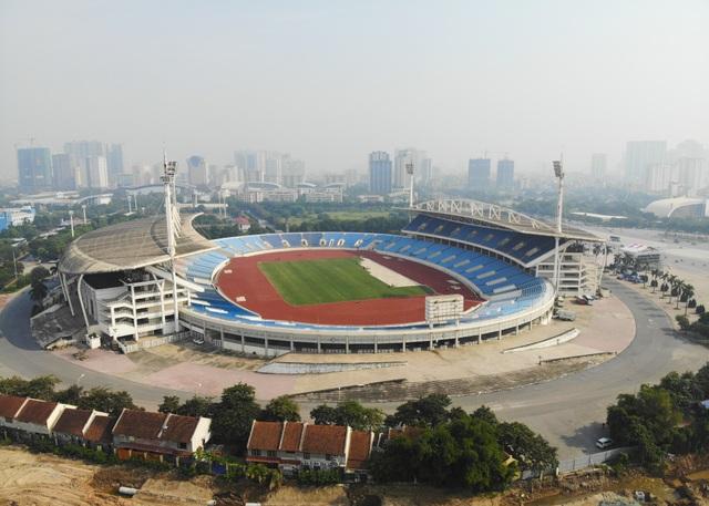 Toàn cảnh sân Mỹ Đình trước trận Việt Nam - Malaysia - 1