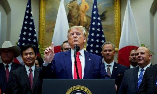 Nhà Trắng thách thức cuộc điều tra luận tội ông Trump - 1