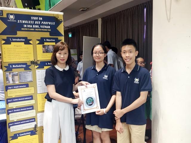 Lần đầu tham dự cuộc thi nghiên cứu khoa học Quốc tế: Học sinh Việt xuất sắc giành giải - 3