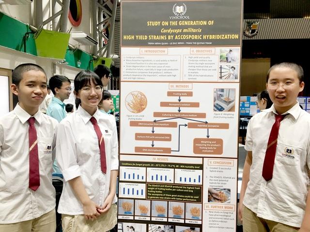 Lần đầu tham dự cuộc thi nghiên cứu khoa học Quốc tế: Học sinh Việt xuất sắc giành giải - 5