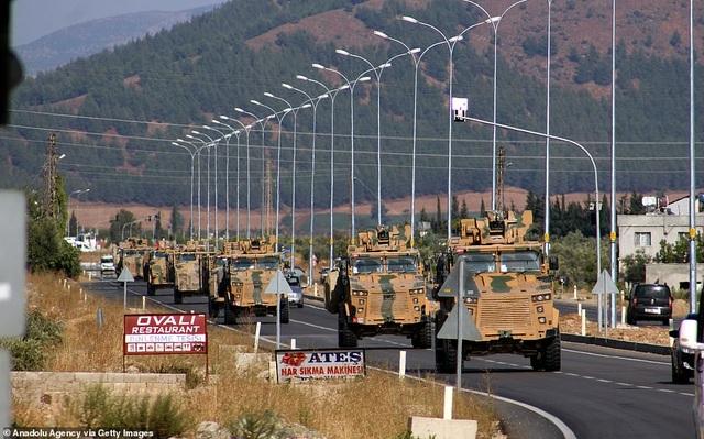Thổ Nhĩ Kỳ rầm rập tiến công vào Syria, chiến sự nóng lên - 21