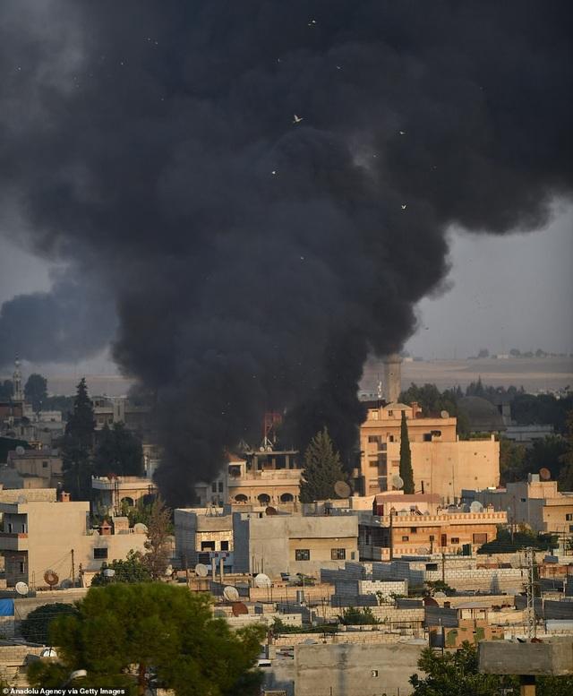 Thổ Nhĩ Kỳ rầm rập tiến công vào Syria, chiến sự nóng lên - 14