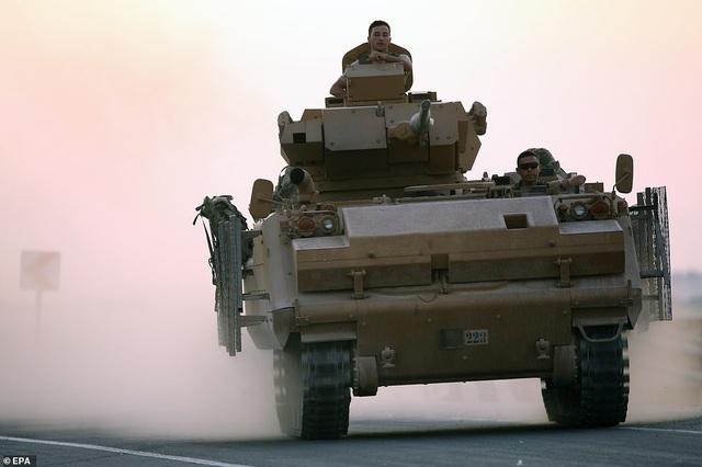 Thổ Nhĩ Kỳ rầm rập tiến công vào Syria, chiến sự nóng lên - 10