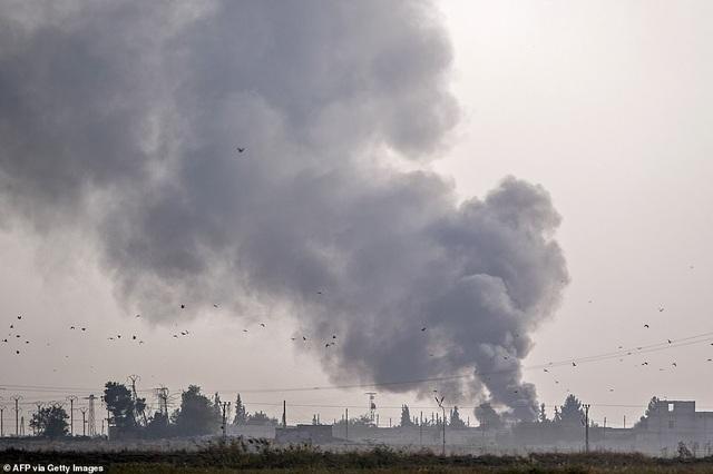 Thổ Nhĩ Kỳ rầm rập tiến công vào Syria, chiến sự nóng lên - 11