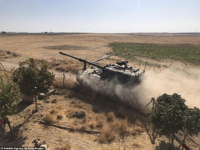 Thổ Nhĩ Kỳ rầm rập tiến công vào Syria, chiến sự nóng lên - 5