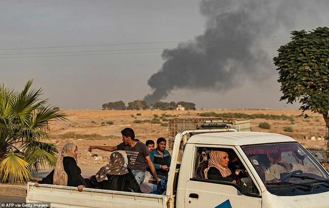 Thổ Nhĩ Kỳ rầm rập tiến công vào Syria, chiến sự nóng lên - 6