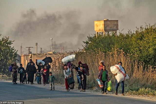 Thổ Nhĩ Kỳ rầm rập tiến công vào Syria, chiến sự nóng lên - 7