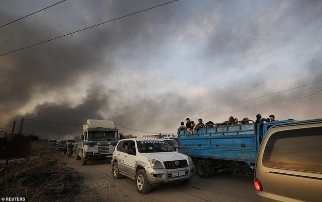 Thổ Nhĩ Kỳ rầm rập tiến công vào Syria, chiến sự nóng lên - 13