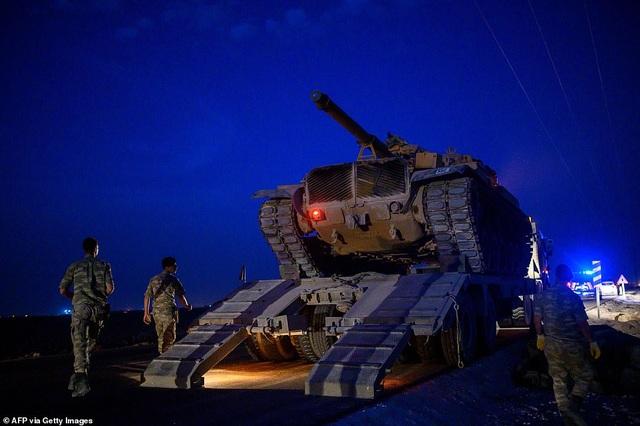 Thổ Nhĩ Kỳ rầm rập tiến công vào Syria, chiến sự nóng lên - 3
