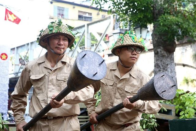 Hoạt cảnh chân thực về cuộc chiến đấu 60 ngày đêm trên đường phố Hà Nội - 3