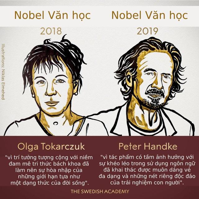 Chân dung hai nhà văn vừa nhận giải Nobel Văn học 2018-2019 - 1