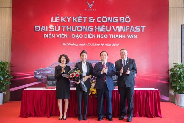 VinFast công bố Ngô Thanh Vân là đại sứ thương hiệu - 1