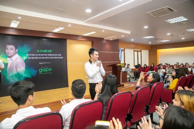 Gapo đồng hành cùng Khắc Việt trao học bổng cho sinh viên - 1