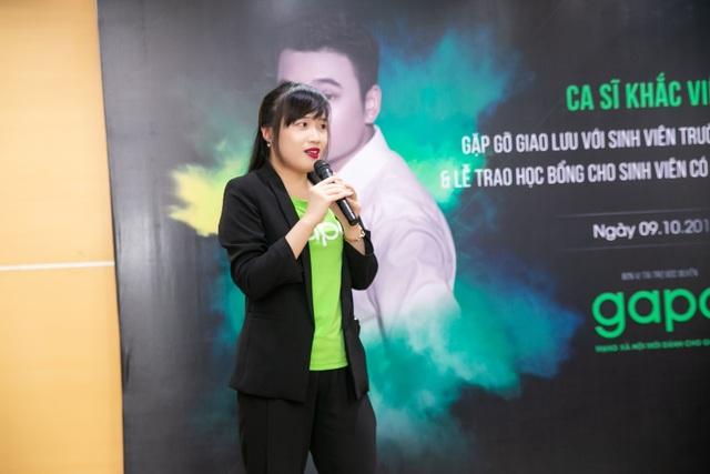 Gapo đồng hành cùng Khắc Việt trao học bổng cho sinh viên - 2