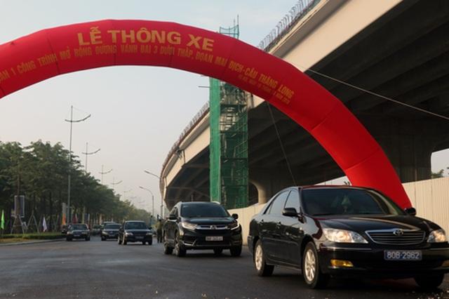 Hà Nội thông xe đường Mai Dịch - cầu Thăng Long - 2