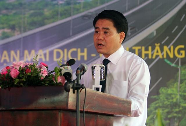 Hà Nội thông xe đường Mai Dịch - cầu Thăng Long - 1