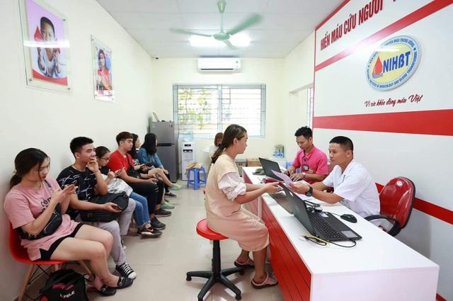 Hà Nội có điểm hiến máu ngoại viện thứ 2 - 1