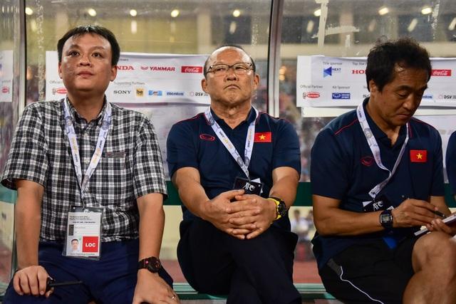 Cảm xúc đặc biệt của HLV Park Hang Seo trong chiến thắng trước Malaysia - 1
