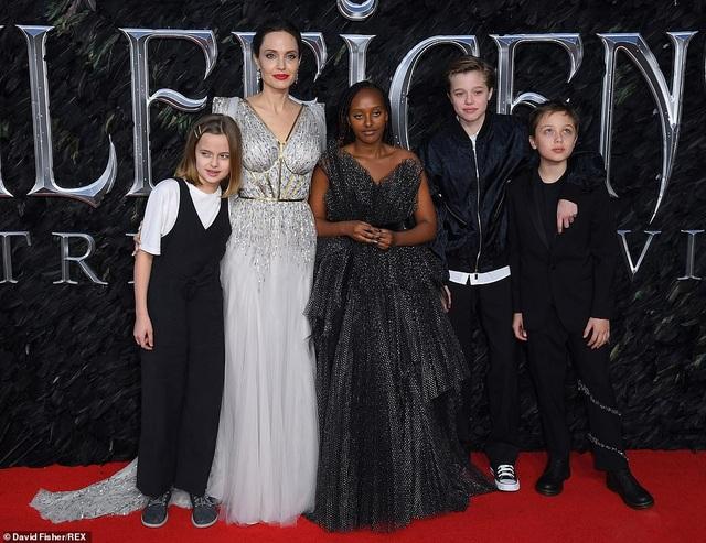 Angelina Jolie thanh lịch quảng bá phim tại London - 1