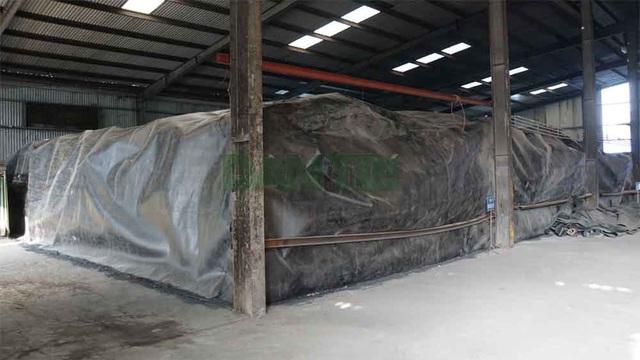 Cận cảnh kho chứa hơn 2.500 tấn phế thải từ vụ cháy Công ty Rạng Đông - 7