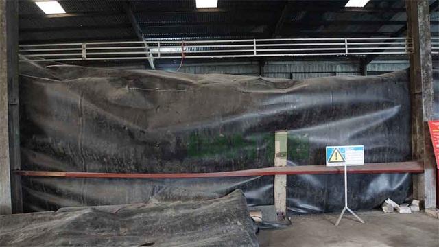 Cận cảnh kho chứa hơn 2.500 tấn phế thải từ vụ cháy Công ty Rạng Đông - 8