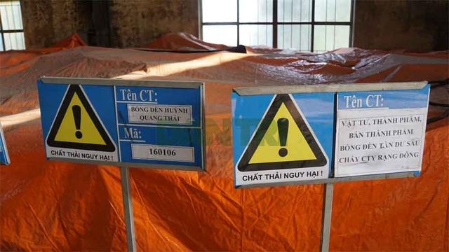 Cận cảnh kho chứa hơn 2.500 tấn phế thải từ vụ cháy Công ty Rạng Đông - 12