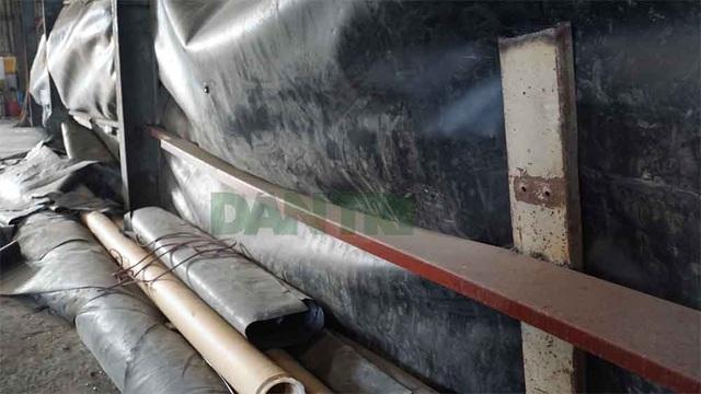 Cận cảnh kho chứa hơn 2.500 tấn phế thải từ vụ cháy Công ty Rạng Đông - 9