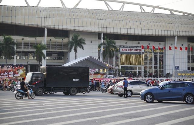 An ninh thắt chặt bảo vệ trận đấu Việt Nam và Malaysia - 1