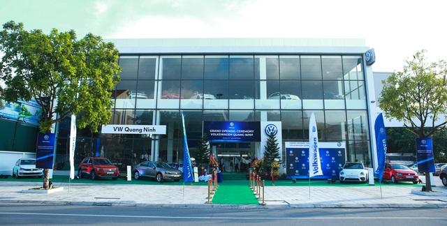 Đại lý chuẩn 4S VW Quảng Ninh chính thức khai trương - 1