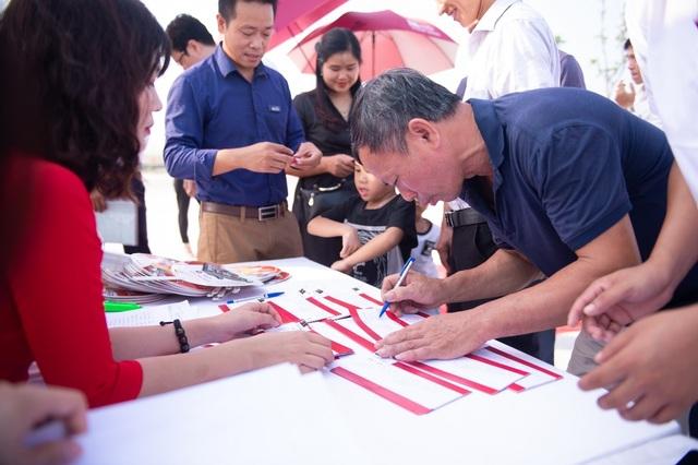 Hàng trăm khách hàng dự Lễ mở bán dự án Hải Quân – Tam Giang - 1