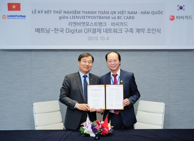 LienVietPostBank và BC Card chính thức ký kết thỏa thuận hợp tác - 1