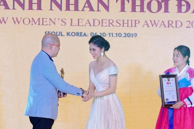 Hoa hậu Nguyễn Thị Thùy được vinh danh tại sự kiện giao lưu văn hóa Việt Hàn - 1