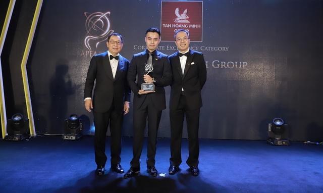 Tập đoàn Tân Hoàng Minh được vinh danh tại Lễ trao giải Giải thưởng kinh doanh xuất sắc châu Á 2019 - 2