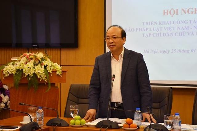 Bộ Tư pháp lý giải việc báo cáo môi trường Hà Nội 2019 sử dụng số liệu từ 2005 - 2