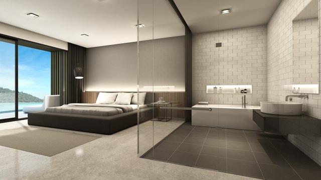 Khách sạn sang trọng với phòng tắm xuyên thấu trở thành cứu tinh hâm nóng tình yêu - 2