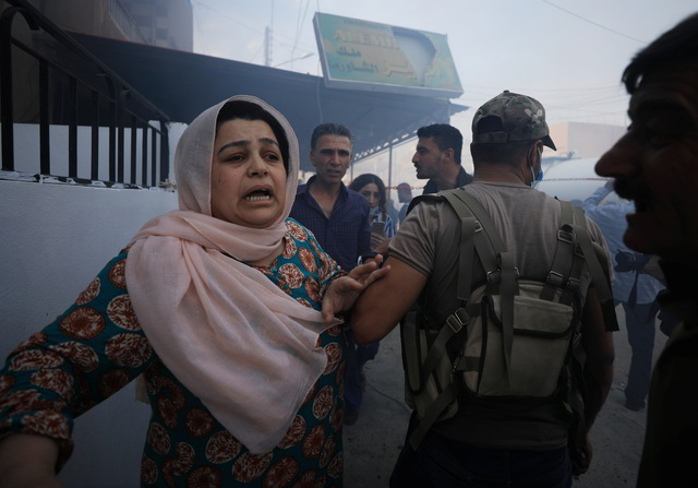 Tấn bi kịch của những người Syria trúng bom rơi, đạn lạc giữa chiến sự leo thang - 5