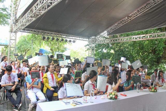 Đà Nẵng: 100 học sinh hào hứng tham gia hội thi Rung chuông vàng - 1