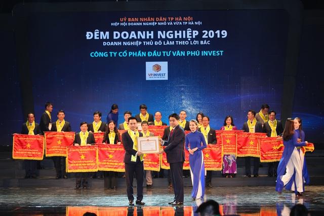 Văn Phú - Invest được tôn vinh tại Đêm doanh nghiệp 2019 - 1