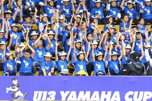 Những khoảnh khắc đẹp nhất mùa Giải bóng đá Thiếu niên U13 Yamaha Cup 2019 - 2