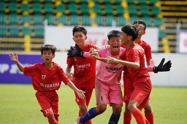 Những khoảnh khắc đẹp nhất mùa Giải bóng đá Thiếu niên U13 Yamaha Cup 2019 - 5